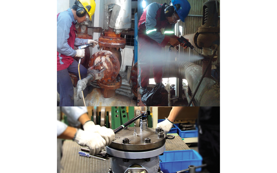 Leak Sealing Services : Pt pilar presisi indonesia
